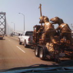 Bay Bridge Dinosaurs