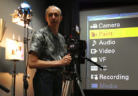 DP Alister Chapman goes through the menus on the Sony F5 and F55 cameras at the AbelCine workshop in Burbank